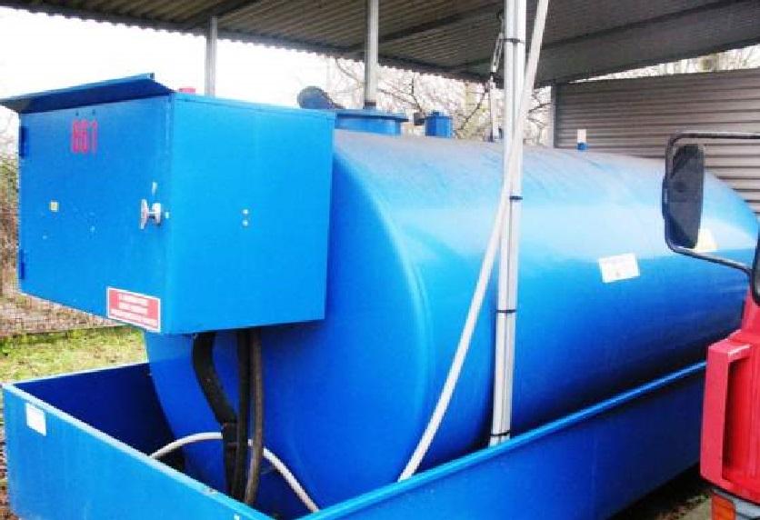 Antifurto per cisterne gasolio